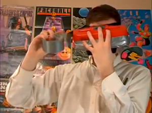 virtual boy aka a '95 version of oculus to be taped to your face