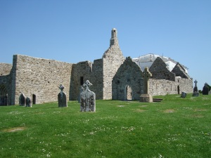 clonmacnoise cathedral [if 10 year olds can rebuild this with a flawed ui so can you!]