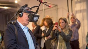 de niro with nonny's googles [at tribeca film fest, pic courtesy of pbs]