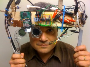 mark bolas, maker of goggles and virtual humans