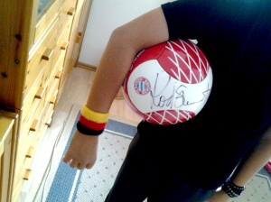 germany always wins coz suburban kids practice with balls signed by rod stewart