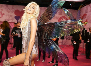 custom wings by violaine villota worn at victoria secret fashion show 2014