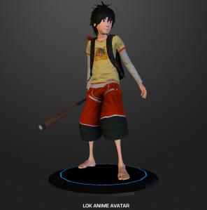loki's anime avatar