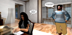 drax and cecilia role-play online journalism practices