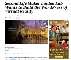 variety on ll and vr [bandwagon? seriously?]