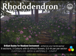 meshy rhododendron by cube