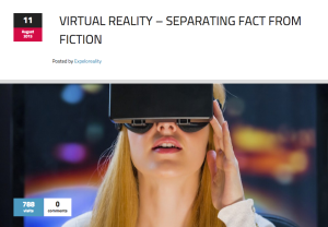 vr scifi and fact