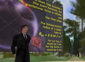 curious george lecturing live in sl