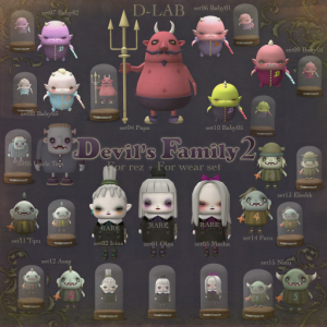 devil's family - for sale from d-lab