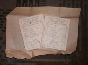 historic passports found in jo's apartment in amsterdam