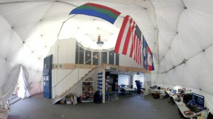 interior of the hiseas mars habitat