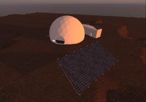virtual hiseas habitat in opensim