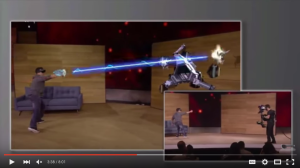 hololens project x-ray demo at windows10 devices event