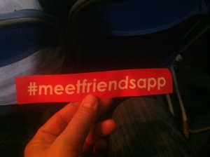 best idea ever = meet friends through an app