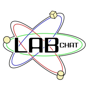 lab chat logo by marianne mccann