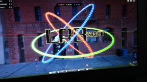lab chat logo testing for intro sequence