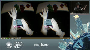leap motion tracking in action with david holz at vision summit