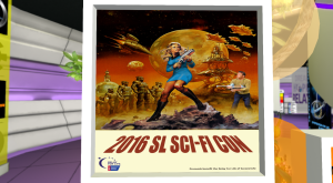 scifi con in retro