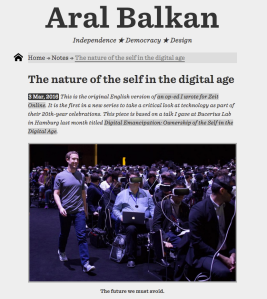 aral balkan on the future we must avoid