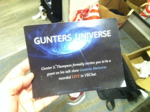 invite to gunter