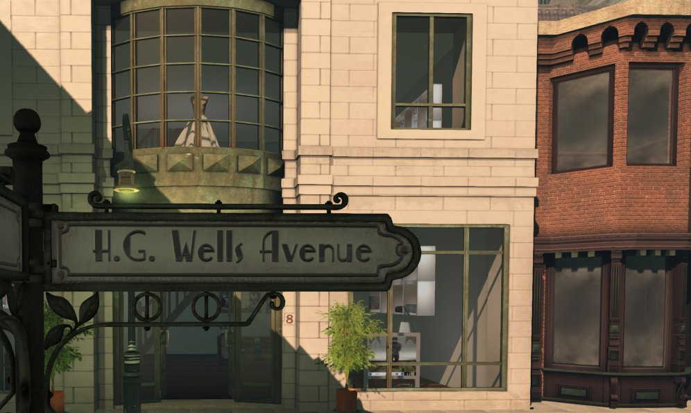 hg wells avenue [pic by melusina parkin]