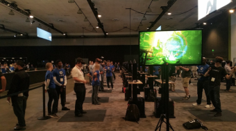 oculus touch stations at oc3 [pic by chris madsen]