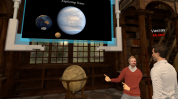 lecturer explains to vassay planetary evolution
