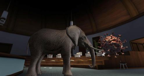 Peter Watts virus elephant